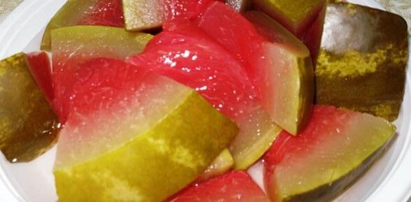 Рецепт приготовления маринованных арбузов