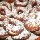 Пончики со сгущенкой и ванильным сахаром