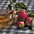 сидр из яблок фото