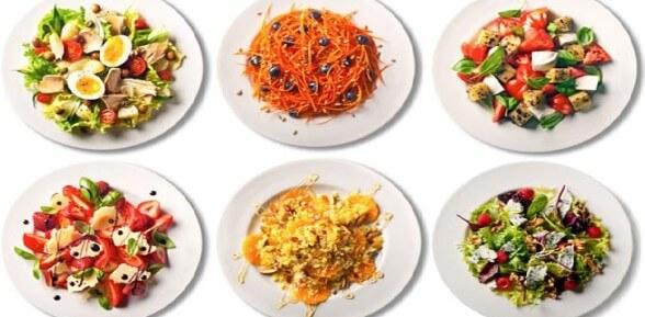 Быстрые и вкусные салаты – раскрываем их секреты