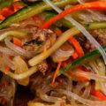 фунчоза с мясом и овощами фото