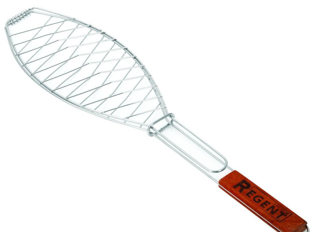 решетка для приготовления рыбы на костре
