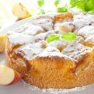 фото яблочной шарлотки в духовке