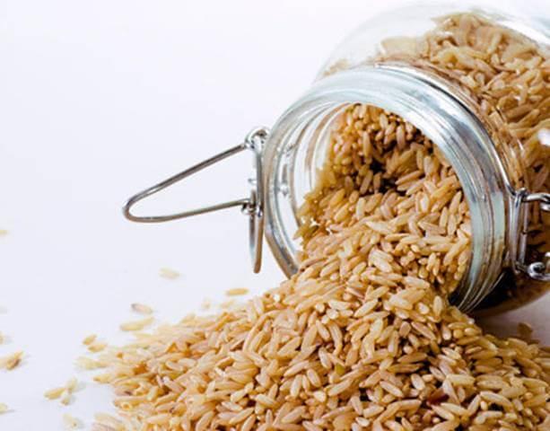 фото бурого риса