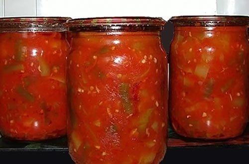 Фото салат из стручковой фасоли