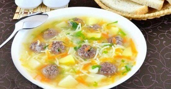 Сытный, ароматный суп с фрикадельками  — советы по приготовлению блюда.
