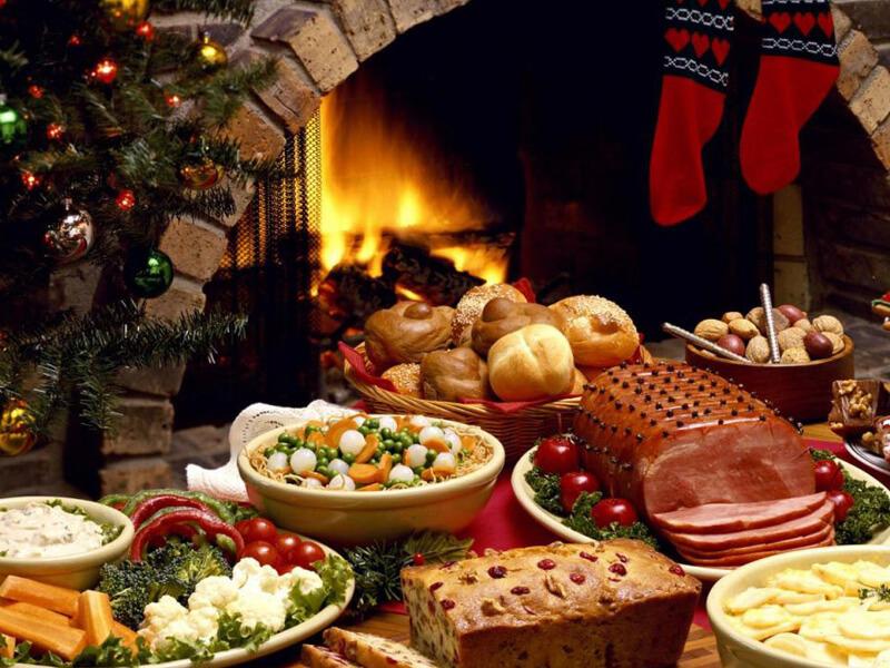 Блюда Новогоднего стола на год Огненного Петуха