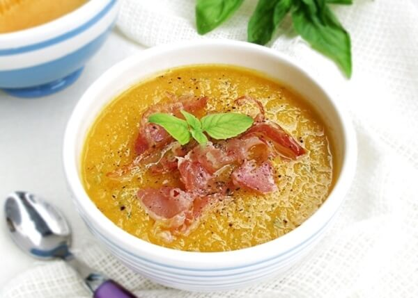 Крем-суп из несладкой дыни