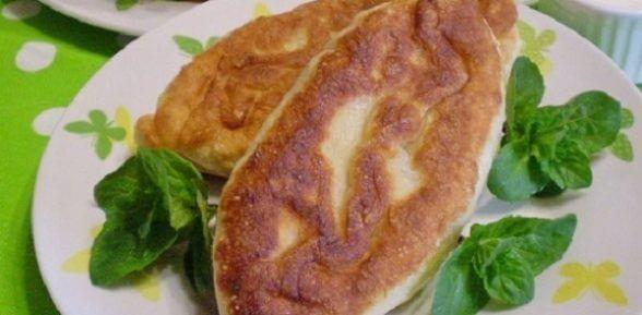 Жареные пирожки с капустой на сковороде – подробный рецепт с фото
