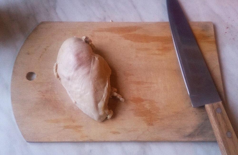 вареная куриная грудка