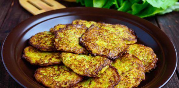 Вкусные оладьи из кабачков и картофеля – лучший рецепт для летнего меню