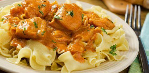 Паприкаш по-венгерски из курицы с помидорами (рецепт с фото)