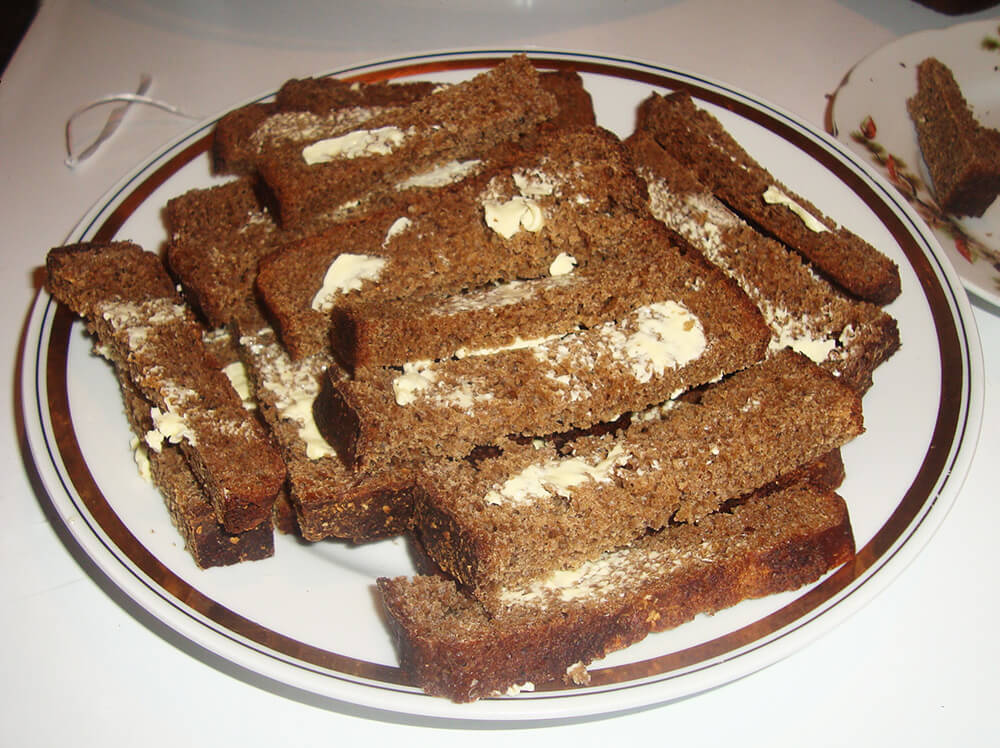Гренки рецепт с фото пошагово