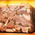Сальтисон из свиной головы с говядиной