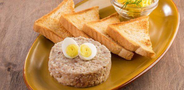 Изумительное закусочное блюдо – нежный форшмак