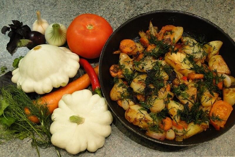 Что приготовить из патиссонов на ужин