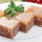 Классический студень из говядины с желатином