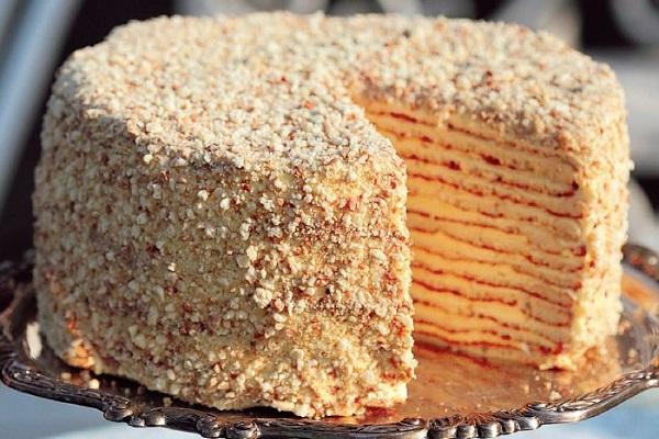 Торт Наполеон с творожным тестом