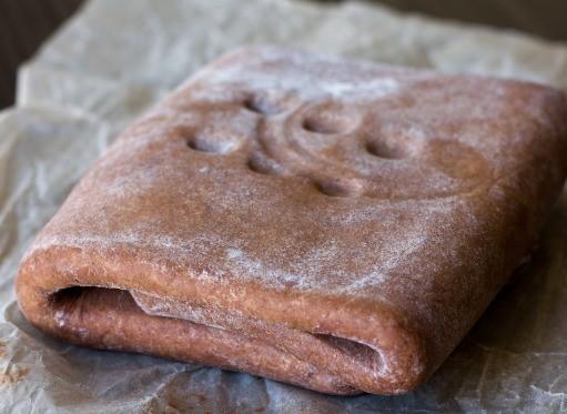 Шоколадное слоеное тесто
