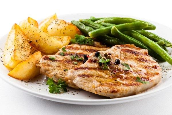 мясо с косточкой в духовке рецепт с фото из свинины с