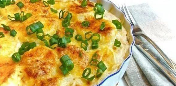 Французский картофель дофине