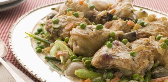 Фрикасе из курицы: 2 простых рецепта