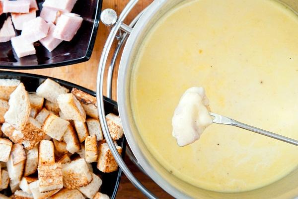 Сырное фондю рецепты домашних условиях