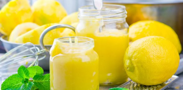Нежный лимонный курд – изумительное дополнение к десертам