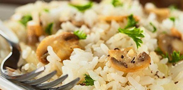 Потрясающий итальянский ужин – вкусное и полезное ризотто с грибами