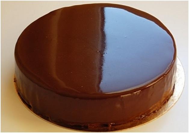 Покрытие торта гляссажем