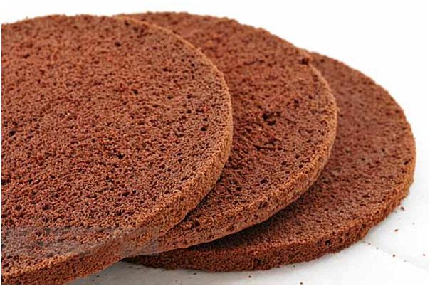 Сборка трюфельного торта