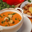 Суп-пюре из чечевицы по-турецки