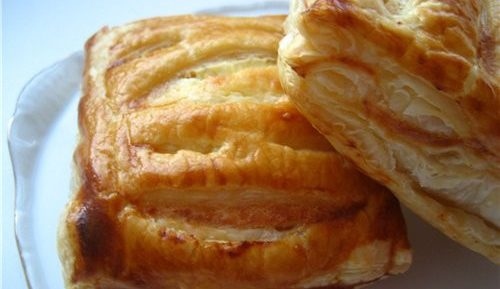 Печенье из готового слоеного теста