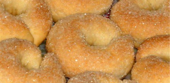 Приготовление сахарного печенья