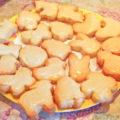 Печеньки в силиконовых формочках