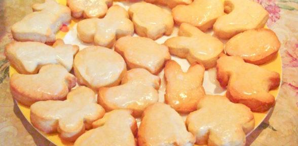 Рецепт печенья в силиконовой форме