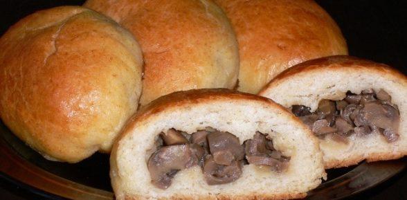 Начинка для пирожков с грибами