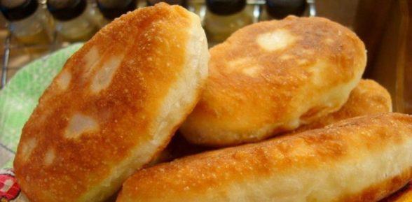 Приготовление пирожков с картошкой