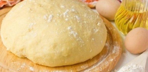 Сдобное дрожжевое тесто для пирожков