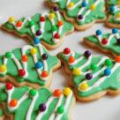печенье ёлочка на Новый Год