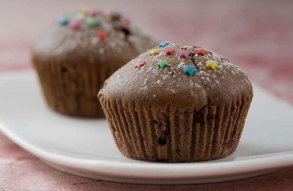 шоколадные кексы