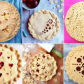 Украшения для пирога из теста
