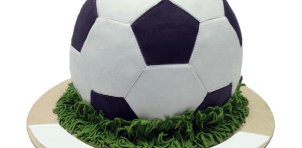 Рецепт торта «Футбольный мяч»
