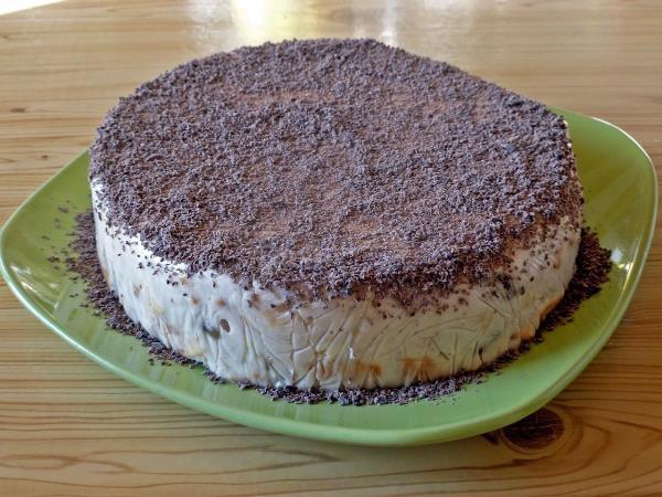 готовый сметанный торт