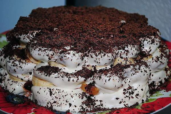 готовый торт из пряников