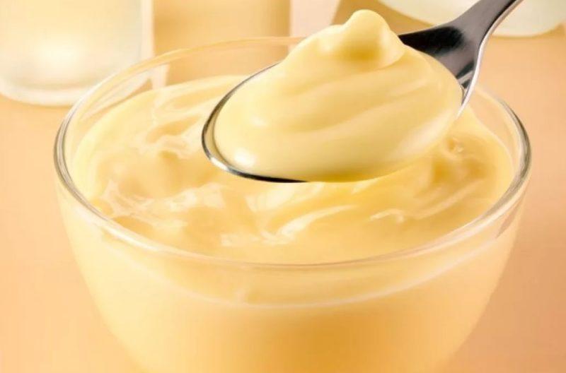 Крем из яиц, сахара и молока