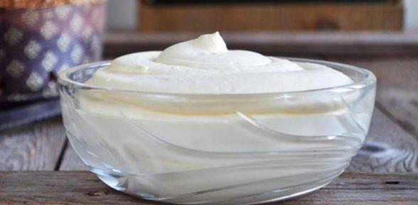 Крем из маскарпоне для торта