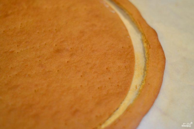 Медовый корж для торта
