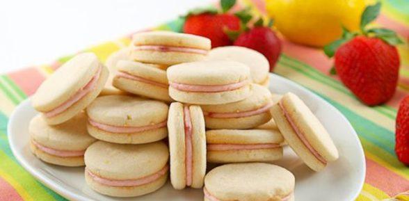 Печенье со сливками