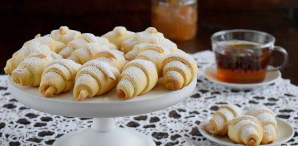 Рецепт печенья рогалики